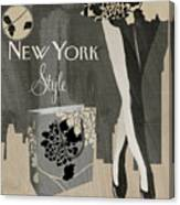 New York Style I Canvas Print