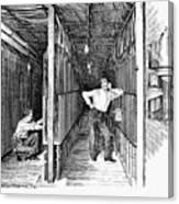 New York: Telephone, 1891 Canvas Print