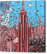 New York Urban Colors 2 Canvas Print