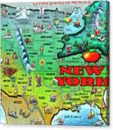 New York Usa Canvas Print