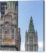 New York Woolworth Building  Canvas Print