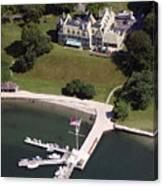 New York Yacht Club Harbour Court 5 Halidon Avenue Newport Ri 02840 3815 Canvas Print