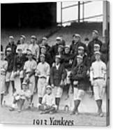 New York Yankees 1913 Canvas Print