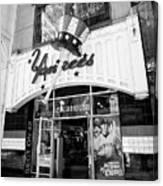 new york yankees club house store New York City USA Canvas Print