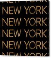New York No 3  Canvas Print