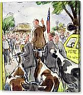 New Yorker August 23 1952 Canvas Print