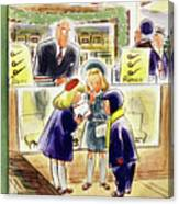New Yorker December 13 1952 Canvas Print