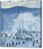 New Yorker February 18 1956 Canvas Print