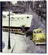 New Yorker January 14 1956 Canvas Print