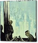 New Yorker January 16 1960 Canvas Print