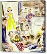 New Yorker January 7, 1950 Canvas Print
