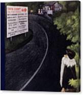 New Yorker June 14 1952 Canvas Print