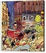 New Yorker June 24 1950 Canvas Print