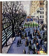 New Yorker March 14 1953 Canvas Print