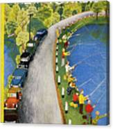 New Yorker May 22 1954 Canvas Print