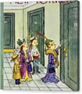 New Yorker November 1 1958 Canvas Print