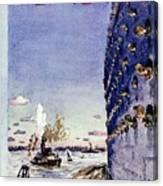 New Yorker September 8 1945 Canvas Print