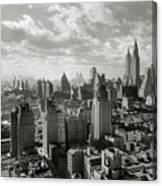 New Your City Skyline Canvas Print