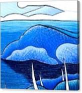 New Zealand Bay Canvas Print