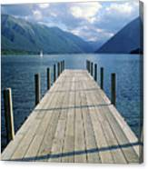New Zealand Dock Canvas Print