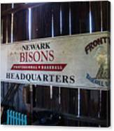Newark Bisons Canvas Print