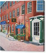 Newburyport  Ma Canvas Print