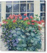 Newburyport Window Canvas Print