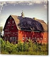 Newell Ave Barn Canvas Print
