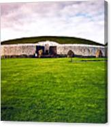 Newgrange Morning Canvas Print