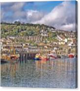 Newlyn Harbour Cornwall 2 Canvas Print