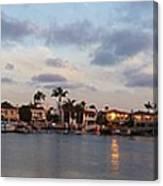 Newport Beach Bay Canvas Print