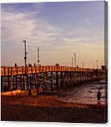 Newport Beach Glow Canvas Print
