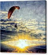 Newport Beach High Flyer Canvas Print