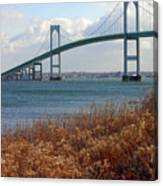 Newport Bridge Newport Rhode Island Canvas Print