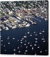 Newport R I Aerial View Canvas Print
