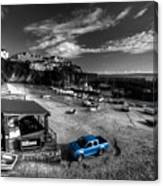 Newquay Harbour  Pickup  Canvas Print