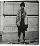 Newsboy, 1909 Canvas Print