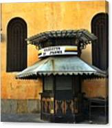Newsstand - Parma - Italy Canvas Print