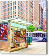 Newsstand 1 Canvas Print