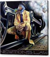 Newton's Law Canvas Print