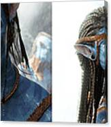 Neytiri And Jake - Gently Cross Your Eyes And Focus On The Middle Image Canvas Print