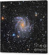 Ngc 6946, The Fireworks Galaxy Canvas Print