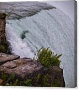Niagara Fall Edge Canvas Print