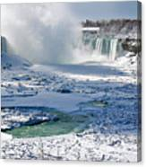 Niagara Falls Frozen  II Canvas Print