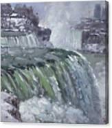 Niagara Falls In Winter  Canvas Print