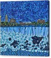 Niagara Falls - Night Canvas Print