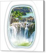 Niagara Falls Porthole Windows Canvas Print