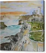 Niagara In Spring Canvas Print