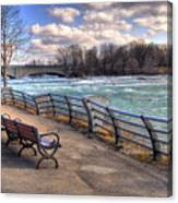 Niagara Rapids In Early Spring Canvas Print