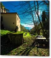 Niasca Hermitage I Portofino Park Passeggiate A Levante Canvas Print